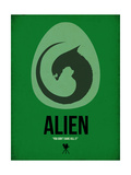 Alien Poster by David Brodsky