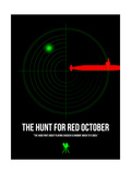 Red October Stampe di David Brodsky