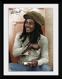 Bob Marley- Rolling Collector Print