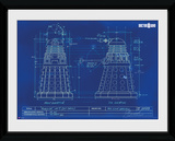 Doctor Who- Dalek Blueprint Samletrykk