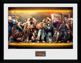 Street Fighter- Characters Stampa del collezionista