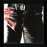 The Rolling Stones - Sticky Fingers Framed Album Art Collector Print