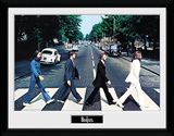 The Beatles- Abbey Road Reproduction encadrée pour collectionneurs