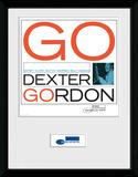 Blue Note- Dexter Gordon Lámina de coleccionista