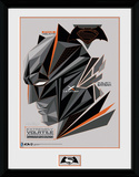 Batman vs. Superman- Geometric Cowl Collector Print