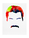 Freddie Watercolor Poster by Lora Feldman