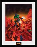 Doom- Classic Key Art Stampa del collezionista