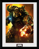 Doom- Cyber Demon Stampa del collezionista