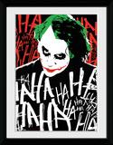 Batman Dark Knight- Jokers Laugh Lámina de coleccionista