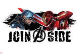 Captain America: Civil War - Captain America Vs Iron Man. Choose a Side Posters