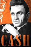 Johnny Cash Illustration Poster von  Lynx Art Collection