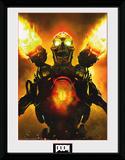 Doom- Key Art Stampa del collezionista