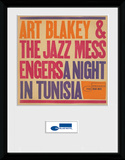 Blue Note- A Night In Tunisia Reproduction encadrée pour collectionneurs