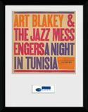 Blue Note- A Night In Tunisia Lámina de coleccionista