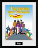 The Beatles- Yellow Submarine Movie Cast Reproduction encadrée pour collectionneurs
