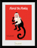 Friends- Marcel The Monkey Collector Print