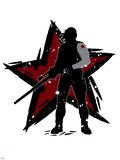 Captain America: Civil War - Winter Soldier (Bucky Barnes) Poster