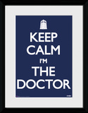 Doctor Who- Keep Calm Stampa del collezionista