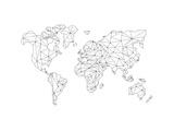 World Wire Map 5 Kunst av  NaxArt