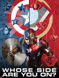 Captain America: Civil War - Captain America Vs Iron Man. Choose a Side Plakater