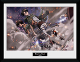 Attack On Titan- In The Ashes Stampa del collezionista