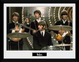 The Beatles- Live Performance Lámina de coleccionista