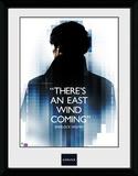 Sherlock- East Wind Coming Collector-print