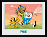 Adventure Time- Finn And Jake Excited Stampa del collezionista