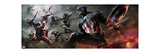 Captain America: Civil War - Captain America Vs Iron Man. Choose a Side Kunstdrucke