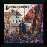 Black Sabbath Framed Album Art Reproduction encadrée pour collectionneurs