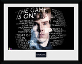 Sherlock- Show Quotes Collector Print