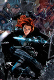 Captain America: Civil War - Black Widow Print