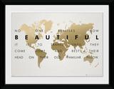 The Beauty Of Travel Verzamelaarsprint