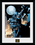 Batman- Catwoman Moonlit Kiss Sammlerdruck