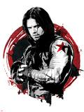 Captain America: Civil War - Winter Soldier (Bucky Barnes) Juliste