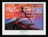 Pink Floyd- The Wall Hammers Reproduction encadrée pour collectionneurs