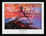 Pink Floyd- The Wall Hammers Lámina de coleccionista