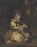 Miss Jane Bowles Giclée-tryk af Sir Joshua Reynolds