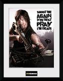 The Walking Dead- Daryl Shoot Me Again Samletrykk
