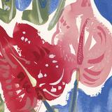 Flamingo Flower I Giclée-vedos tekijänä Alan Halliday