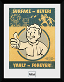 Fallout 4- Vault Forever Stampa del collezionista