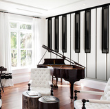 Piano Keys Wall Mural Tapettijuliste
