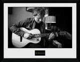 Ed Sheeran- Striking A Chord Collector Print
