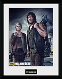 The Walking Dead- Carol And Daryl Samletrykk