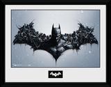 Batman Origins- Arkham Bats Stampa del collezionista