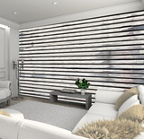 Horizontal Wood Panel Wall Mural Tapettijuliste