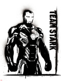 Captain America: Civil War - Team Stark, Team Iron Man Plastic Sign