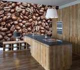 Coffee Bean Wall Mural Tapettijuliste