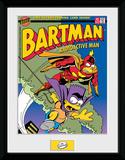 The Simpsons- Bartman Meets Radioactiveman Stampa del collezionista