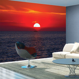Stunning Sunset Wall Mural Wallpaper Mural